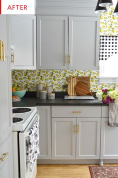 Before and After: A Cheerful, Sunny Kitchen for Only $2,500