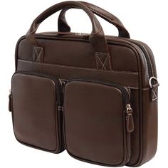"""Mobile Edge 14.1"""" Pc And 15"""" Macbooktech Briefcase Brown"""