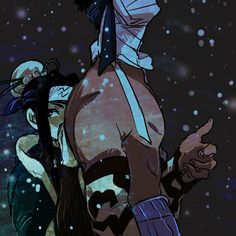 Zabuza and Haku...Even though they are from the 1st season i still miss them.