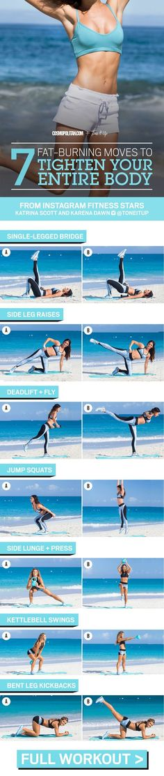 7 Fat-Burning Moves to Tighten Your Entire Body | Posted By: CustomWeightLossProgram.com