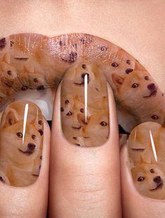Wow. So polish. Much nails. - Imgur