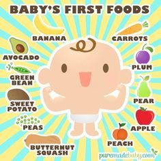 Puremade Baby | Baby's First Foods | Puremade Baby