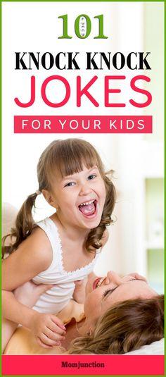 101 Rib-Tickling Funny Knock Knock Jokes for Kids