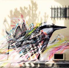 Street art in #venicebeach // Dommae qu'on ne puisse pas ramener 2/3 murs dans sa valise... ❤️ #streetart #californialove