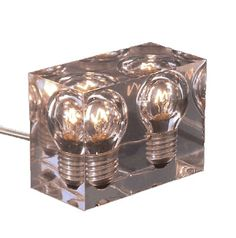 Resin Lamp by Designgedichtjes