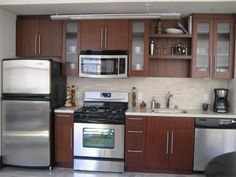 one wall galley kitchen design. one wall kitchen  Garage apartment Plan Pinterest Kitchens Walls and Kitchen design