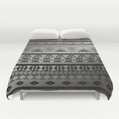 Aztec Print Duvet Cover by GoAti - $99.00