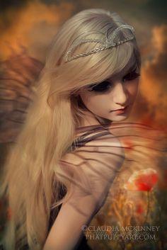 Demure...#Fae #fairy #magic #fantasy #art