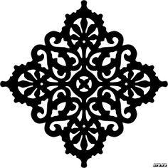 Free Scroll Saw Fretwork Patterns | Victorian Trivet Pattern