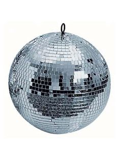 The ultimate in party makers- a sparkly disco mirror ball! House party essential!
