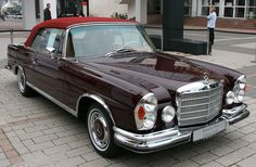 Mercedes-Benz 280 SE Cabriolet - car my Grandfather had when I was born - lots…                                                                                                                                                                                 More