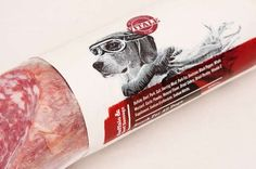 Personified Pup Branding - Vitale Dog food takes canines seriously  #packaging : ) PD