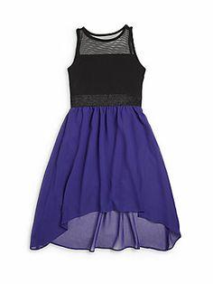 Sally+Miller Girl's+Carly+Chiffon+Dress