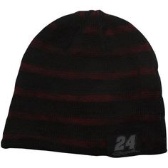 NASCAR Chase Authentics Jeff Gordon Happy Hour Reversible Beanie - Black/Red by Football Fanatics. $17.95. Chase Authentics Jeff Gordon Happy Hour Reversible Beanie - Black/RedApplique logo patchesReversible double-layered beanieImported72% Acrylic/28% WoolOne size fits mostLoose weave results in subtle stripe patternOfficially licensed NASCAR product72% Acrylic/28% WoolReversible double-layered beanieApplique logo patchesLoose weave results in subtle stripe patternOne si...