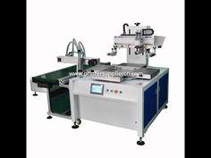 Automatic shoe-pad Screen Printing Machine,Automatic shoe-pad Printing M. Screen Printing Machine, Screen Printer, Label Machine, Science And Technology, Rotary, Interior, Prints, Business, Youtube