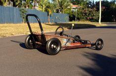 2014 Townsville  billy cart dash wheel barrow racer. Slick racing
