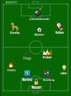 Bayern Munich summed up in emojis Football Troll, Football Jokes, Football Fans, Dfb Team, Fc Bayern Munich, Football Photos, Lewandowski, Liverpool Fc, Sport
