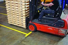 Buy your Toughstripe™ Floor Marking Tape online with Seton. Create non-slip, effective and durable custom floor markings Warehouse Logistics, Agriculture Farming, Workplace Safety, Health And Safety, Outdoor Power Equipment, Tape, Engineering, Construction, Flooring