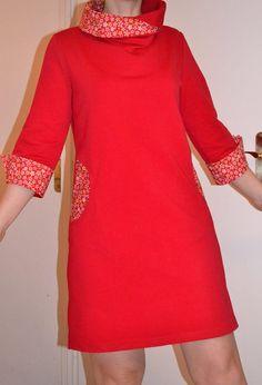 Comme prévu voici le retour de l'Aristo  . Après la robe noire, voici la version robe rouge. Modèle que j'apprécie toujours autant et j'ai encore pu apprécier le confort de cette robe en vadrouille en zone ventée ce weekend. Plus de photos et d'infos sur mon [...]