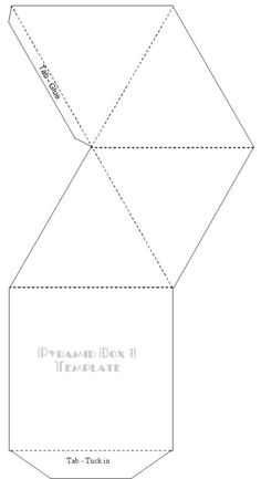 pyramid box - Shrink and use for polymer?