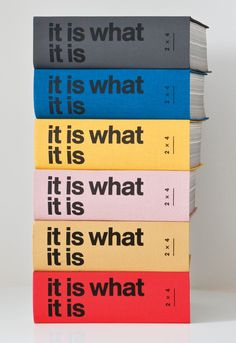"""""""It Is What It Is"""" by 2x4 Studio, New York 