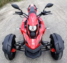 Trike Scooter, Trike Motorcycle, Bike, Gas Moped, Reverse Trike, Kill Switch, Final Drive, Chain Drive, 50cc
