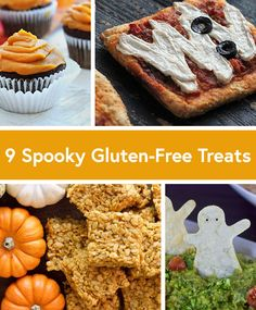 9 Spooky Gluten-Free Halloween Recipes. Trick or treat, give us something good and gluten-free to eat! #healthy #glutenfree #recipes