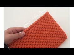 Crochet Bag Tutorials, Crochet Videos, Crochet Projects, Crochet Handbags, Crochet Bags, Knit Crochet, Crochet Stitches Patterns, Stitch Patterns, Knitting Patterns