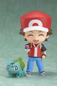 Amazon.com: Pokémon Center Nendoroid Original Red: Toys & Games