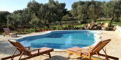 Ostuni trulli holiday accommodation with pool