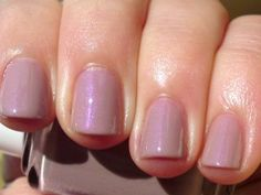 just bought: Essie Demure Vixen...nude with a shimmer of purple