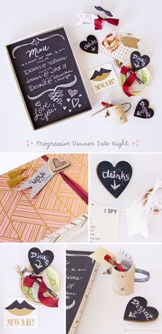 4 Date Night Boxes to Inspire Your Valentine's Day | Spend a romantic and fun-filled evening with your sweetheart this Valentine's Day with these quirky and sweet activity ideas for two from Think.Make.Share, a blog from the Creative Studios at Hallmark.