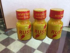 DVD Head Cleaning Solvent-RUSH 10ml 3-Pack #RUSH