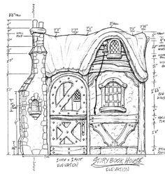storybook old world cottages | STORYBOOK COTTAGE HOUSE PLANS STORYBOOK COTTAGE STYLE HOME PLANS »
