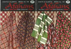 Vintage+Afghan+Patterns+Crochet+and+Knit+Coats+and+Clarks+Book+108