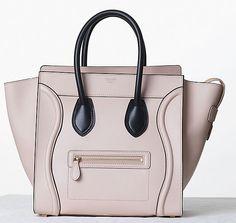 Celine Bicolor Luggage Tote Fall 2013