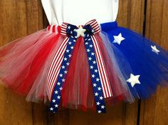 4th of July Tutu attach to jean dress for county fair @Jennell Dietz Johnson