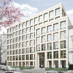 Max Dudler Architekt - Bürohaus Myliusstrasse Frankfurt