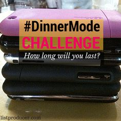 Could you survive this #challenge during dinner? Try it tonight! #DinnerModeChallenge Survival, Challenges, Dinner, Life, Dining, Food Dinners, Dinners