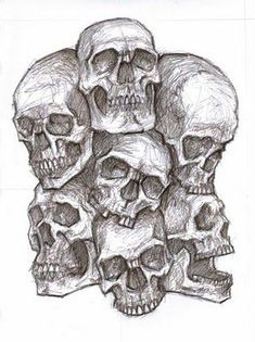 Pile of skulls by arimond on DeviantArt