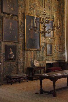Hardwick Hall, built by Elizabeth, Countess of Shrewsbury, 1588
