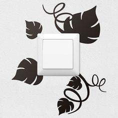Stickers muraux: Feuilles de vigne 0