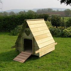 DIY Pallet Wood Chicken Tractor Duck Poultry House Coop | eBay