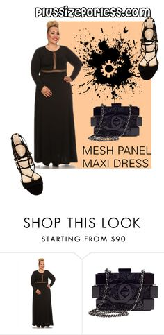 """plussizeforless"" by plussizeforless ❤ liked on Polyvore featuring Marc Fisher and Chanel"