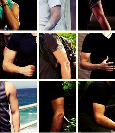 Jhutch's Biceps anyone? LOL i <3 our fandom