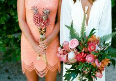 Expect some serious flower power with these gorgeous spring wedding bouquets.