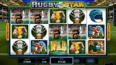 243 ways to become a Rugby star. Join Vegas Paradise and play sport-themed slots game online, Rugby Star with a bonus of £5 bonus