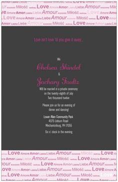 Reception only invitation help! :  wedding black pink reception Lp.aspx
