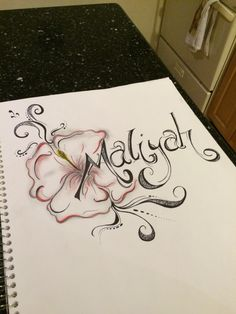 Name piece I did for my cousin !!