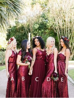 Bridesmaid Dresses With Sleeves, Modest Bridesmaid Dresses, Cute Bridesmaid Dresses, Lace Bridesmaid Dresses, Burgundy Bridesmaid Dresses Bridesmaid Dresses 2018 Dark Red Bridesmaid Dresses, Red Bridesmaids, Bridesmaid Dresses Online, Wedding Dresses, Bridesmaid Tops, Party Dresses, Bridesmaid Separates, Modest Wedding, Bridal Gowns